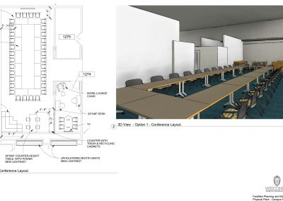 Art Lofts Flex space renderings for Phase 1 of the Art Lofts Remodel.