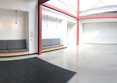 Art Lofts Remodel Phase 1 front entrance completed.