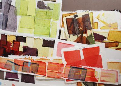 Detail of Rachel Griffin's work, Art Department, University of Wisconsin-Madison.