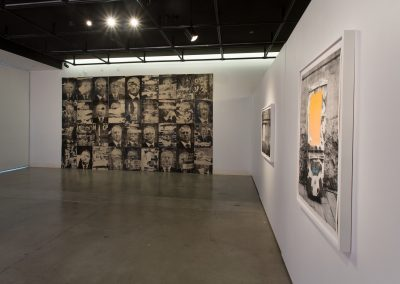 "Installation view of Galen Gibson-Cornell's Master of Fine Arts Exhibition, ""Invisible Cities"". Art Department, Art Lofts Gallery, University of Wisconsin-Madison."