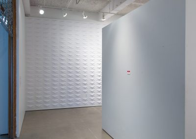 Installation view of Jay Ludden's Master of Fine Arts Exhibition at Gallery 7, University of Wisconsin-Madison.