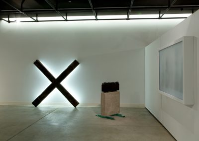 Installation view of Connor Greene's Master of Fine Arts Exhibition at the Art Lofts Gallery, University of Wisconsin-Madison
