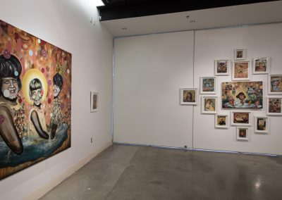 Installation view of Brian Bartlett's Master of Fine Arts exhibition at the Art Lofts Gallery, University of Wisconsin-Madison