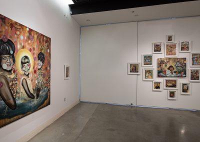 Installation view of Brian Bartlett's Master of Fine Arts Exhibition, Art Lofts Gallery, University of Wisconsin-Madison