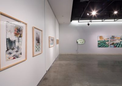 Installation view of Eric Wolever's Master of Fine Arts Exhibition. Art Lofts Gallery, Department of Art University of Wisconsin-Madison