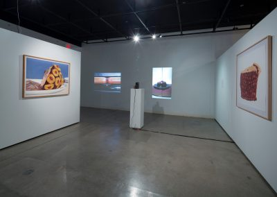 Installation view of Rachael Griffin's Master of Fine Arts Exhibition. Art Lofts Gallery, Department of Art University of Wisconsin-Madison