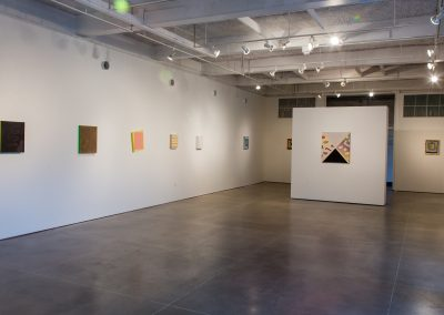 Installation view of Andre Torres's exhibition at Gallery 7, University of Wisconsin-Madison