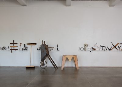 Installation view of Jeremy Nuttall's exhibition. 7th Floor Gallery, University of Wisconsin-Madison