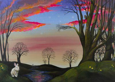 Dan Herro, Eventide, painting
