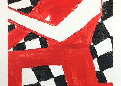 Henry Stoehr, Runner 1, painting