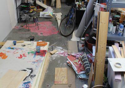 Detail of a Grad Studio, Art Department, University of Wisconsin-Madison.