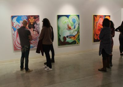 """Justin Eccles Master of Arts Exhibition """"Changeover,"""" Art Lofts Gallery, Department of Art University of Wisconsin-Madison"""