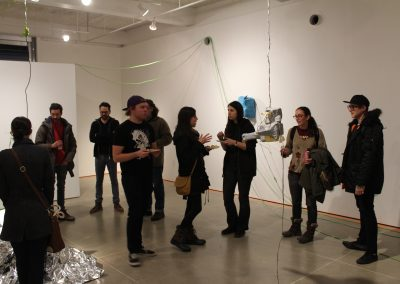 Claire Wilson's Master of Arts Exhibition Reception at Gallery 7, University of Wisconsin-Madison