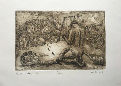 Lindi Shi, printmaking