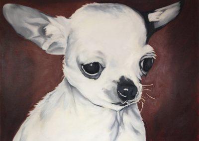 Keiler Roberts - Chihuahua, painting