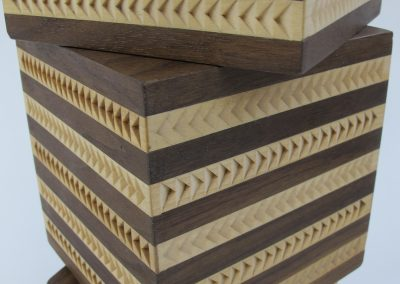 Rudy McGugan, woodworking art detail