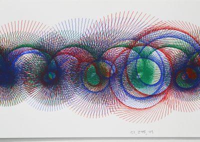 Detail of Chris Hall's Grad Studio, Art Department, University of Wisconsin-Madison.