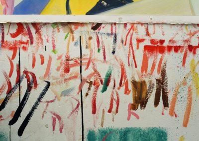 Detail of Diana Cavallero's Grad Studio, Art Department, University of Wisconsin-Madison.