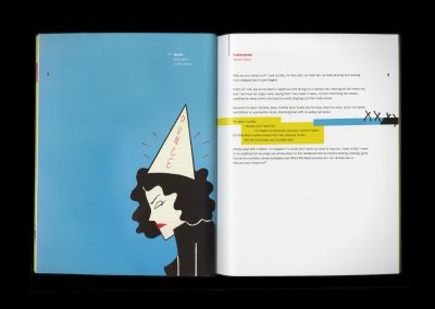 Leb Weisnicht, Illumination Journal spread, graphic design