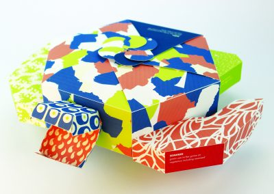 Claire Larkins, Sea Turtle Packaging, graphic design
