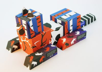 Siberian Tiger Packaging, graphic design