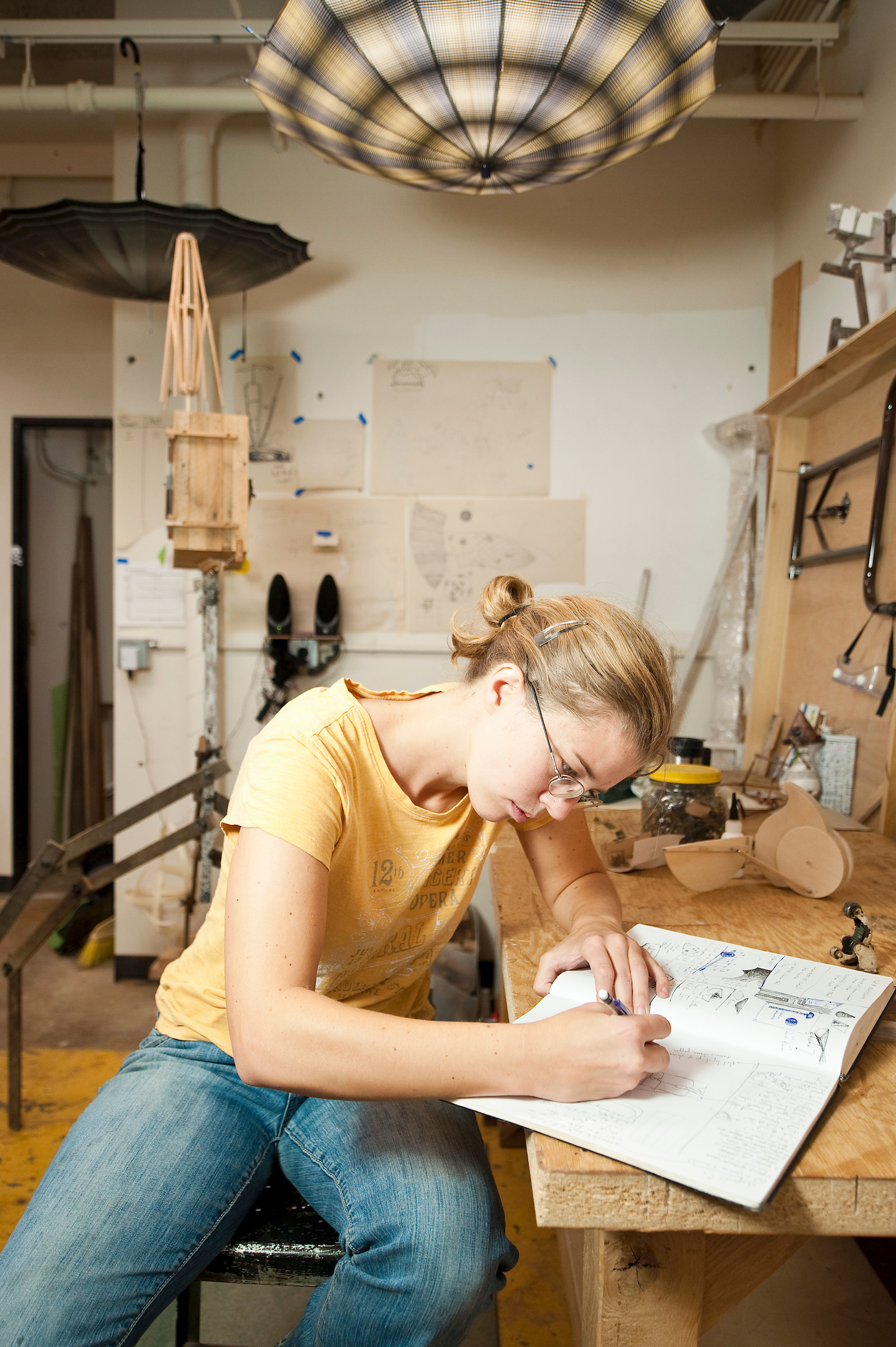 Katie Hudnall Windgate Artist In Residence Sketches Ideas For A Woodworking Project