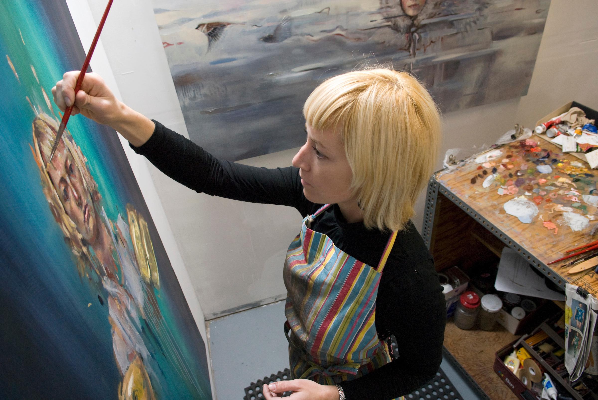 uw art madison uw art katelyn alain grad studio