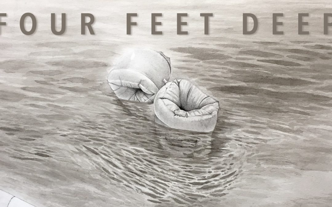Four Feet Deep: Reception for MFA Exhibition by Evan Hawkins