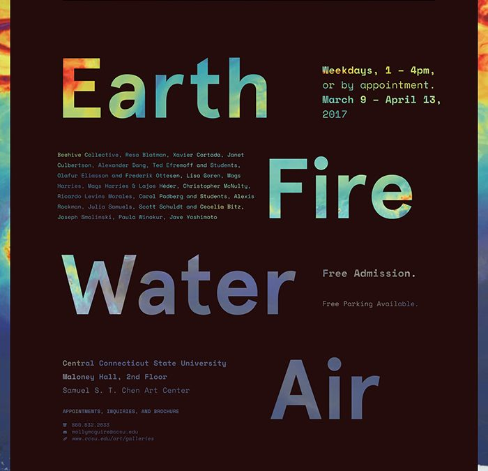 Earth Water Fire Air: The Elements of Climate Change Group Show