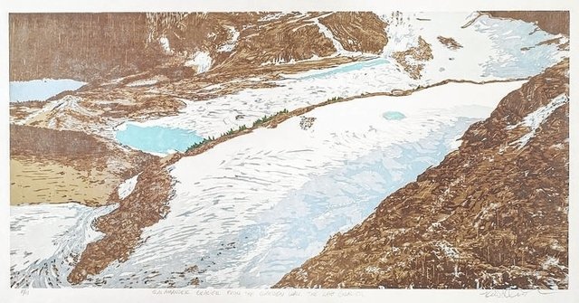 Art professor saves National Park glaciers as woodcut prints, work acquired by national galleries by Clinton Colmenares