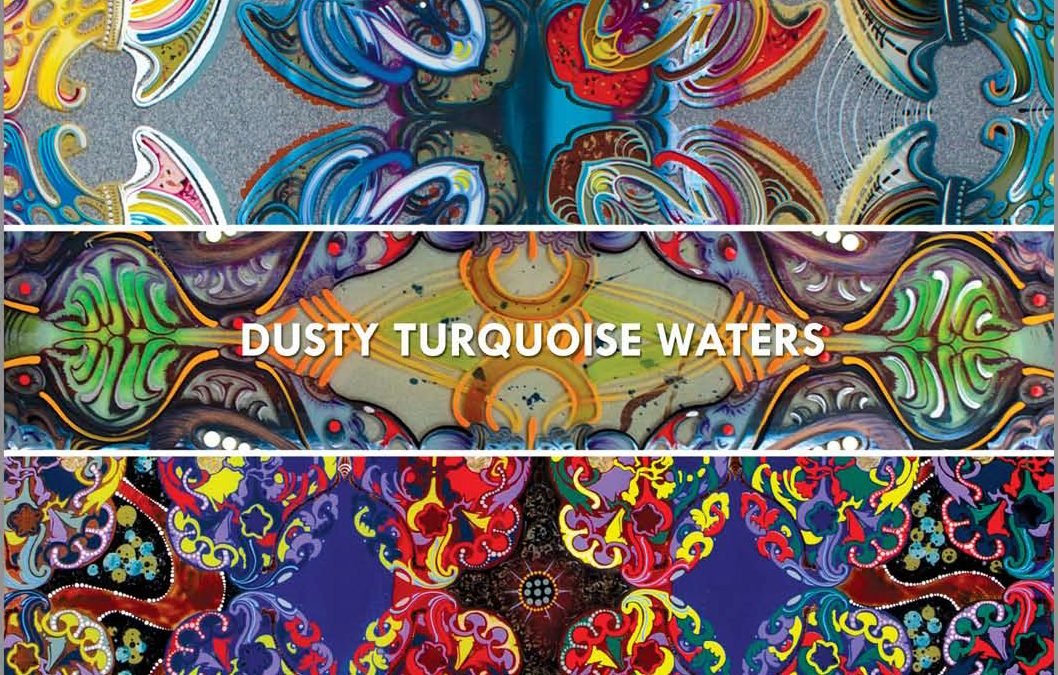 Dusty Turquoise Waters Master of Fine Arts Exhibition by Tara Austin