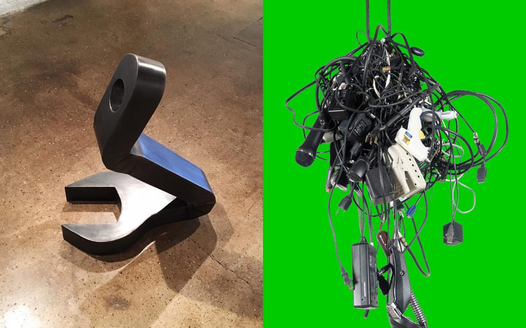 Jeremy Nuttall and Elizabeth Thorp, MFA '17, honored for Outstanding Student Sculptures by ISC