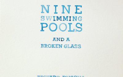 Ed Ruscha's Nine Pools and a Broken Glass by Amy Park, BFA '99 & MFA '03