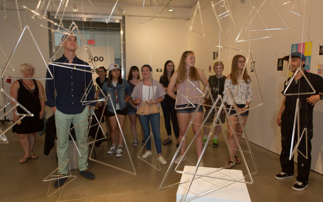 Highlights from Summer Studio 2017 by Dr.Mary Hoefferle, Art Ed faculty