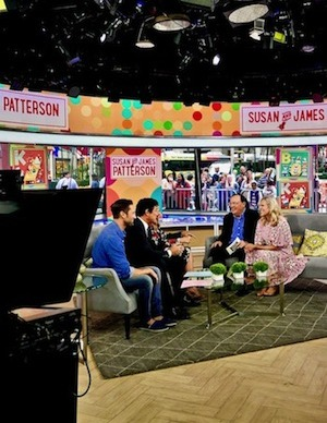 Pattersons appear on 'Today Show' to speak about new book, 'Big Words for Little Geniuses'