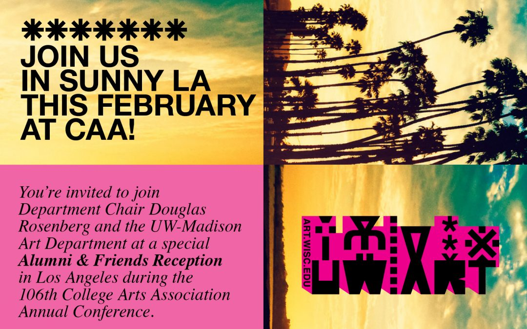 Join us in sunny LA this February at CAA!