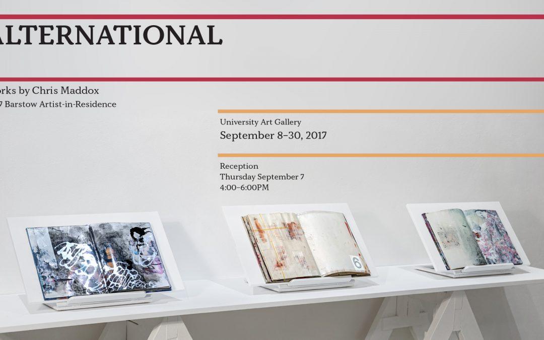 Alternational by Chris Maddox,MFA '16