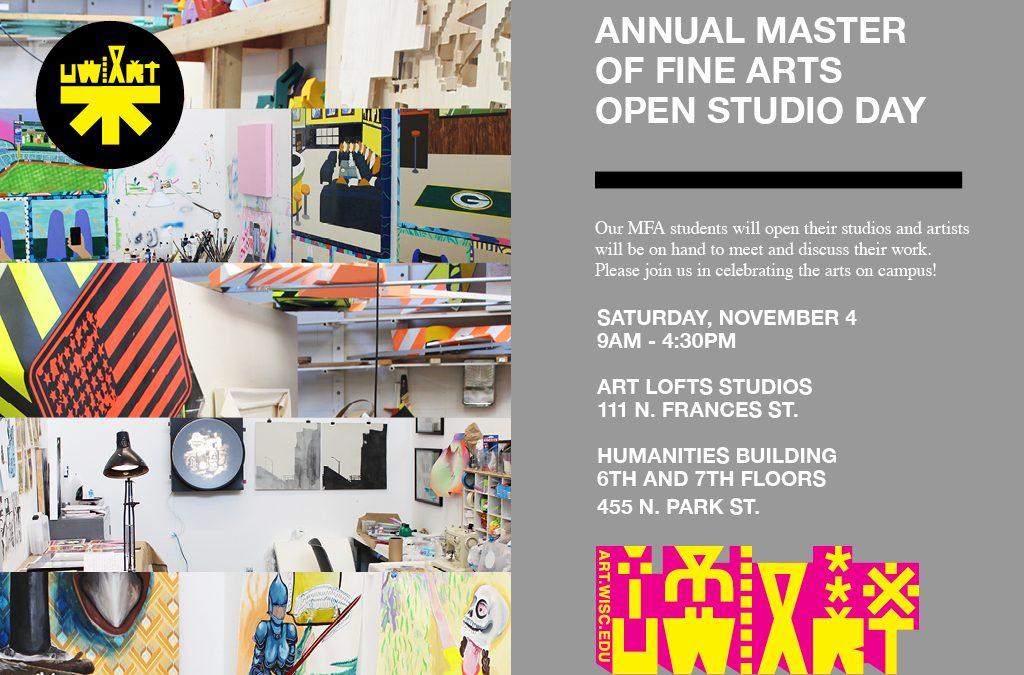 Annual Master of Fine Arts Open Studio Day