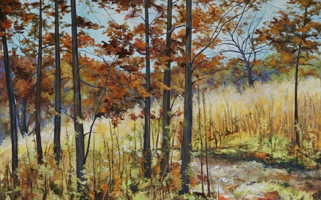 Seasonal Shifts – Colors and Textures by Karen Watson-Newlin, MA-Art Education '81