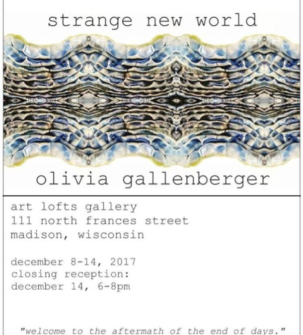 strange new world by Olivia Gallenberger
