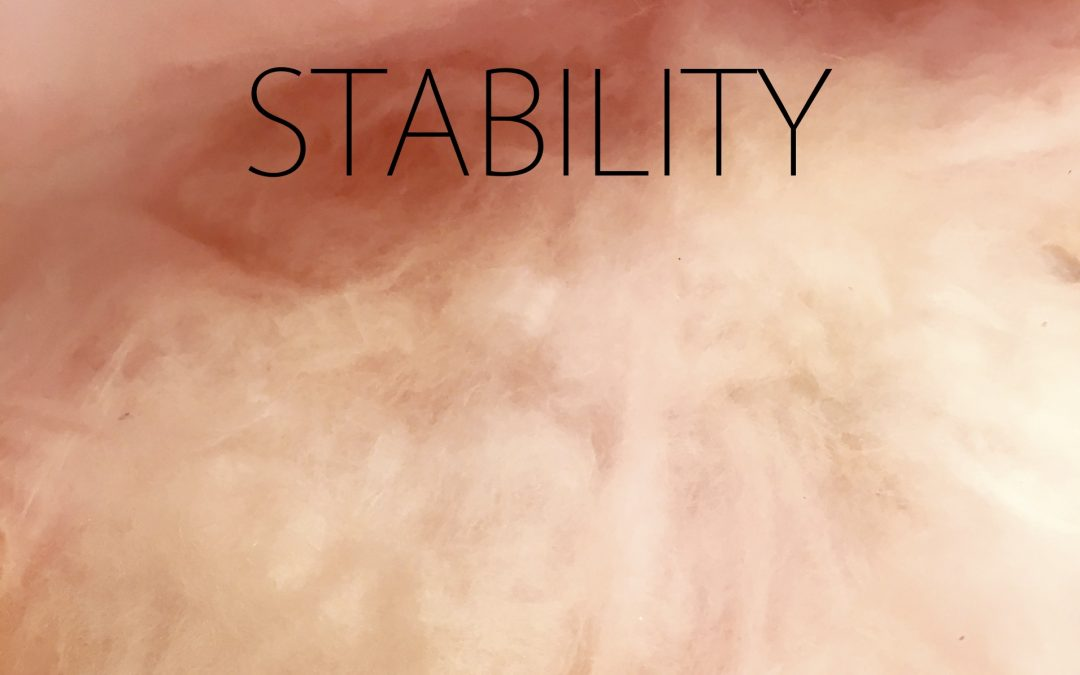 STABILITY: MA Exhibition by Eric Ford