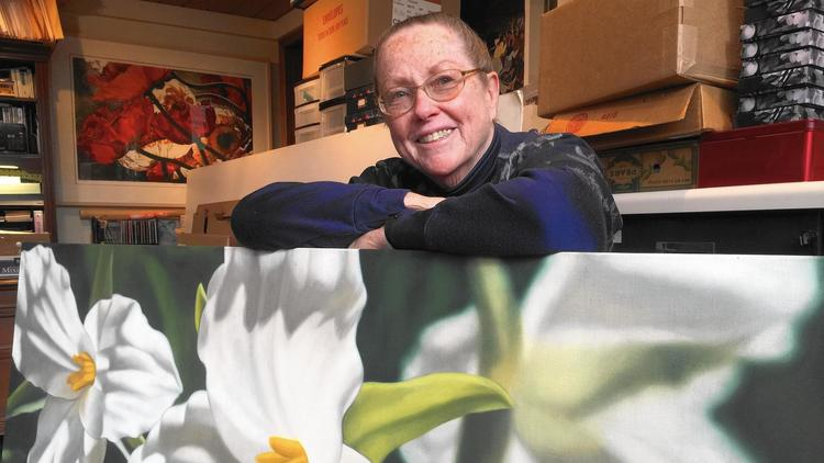 Painter Winifred Godfrey returns to Beverly Arts Center for homegrown show by Howard Ludwig