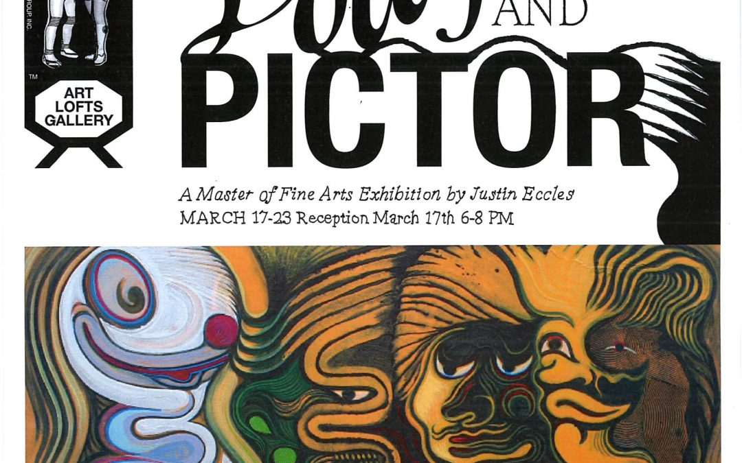 Lolly and Pictor A Master of Fine Arts Exhibition by Justin Eccles