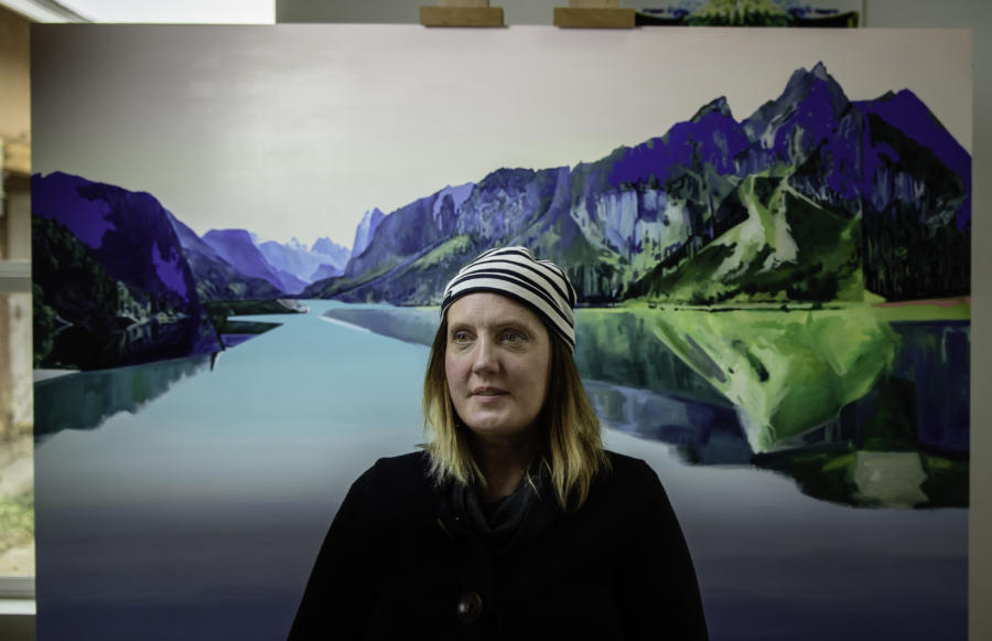 After 10-year design career, painter returns to first love by Kathaleen Roberts