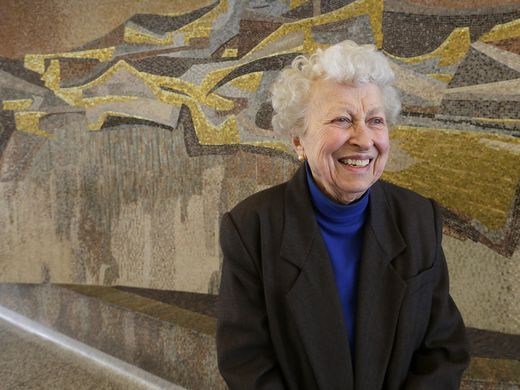 State Office Building murals by pioneering feminist artist in jeopardy by Mary Louise Schumacher