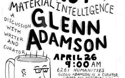 Coffee, Donuts, and Material Intelligence: A Discussion with Writer and Curator Glenn Adamson