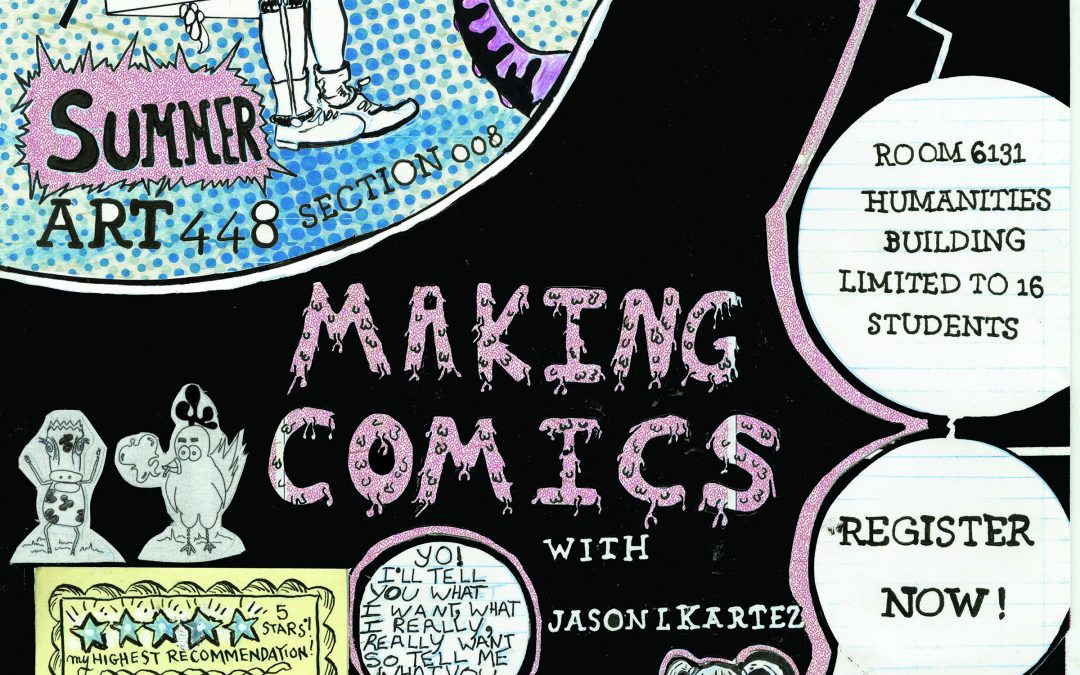 Make Comics this Summer in Art 448!