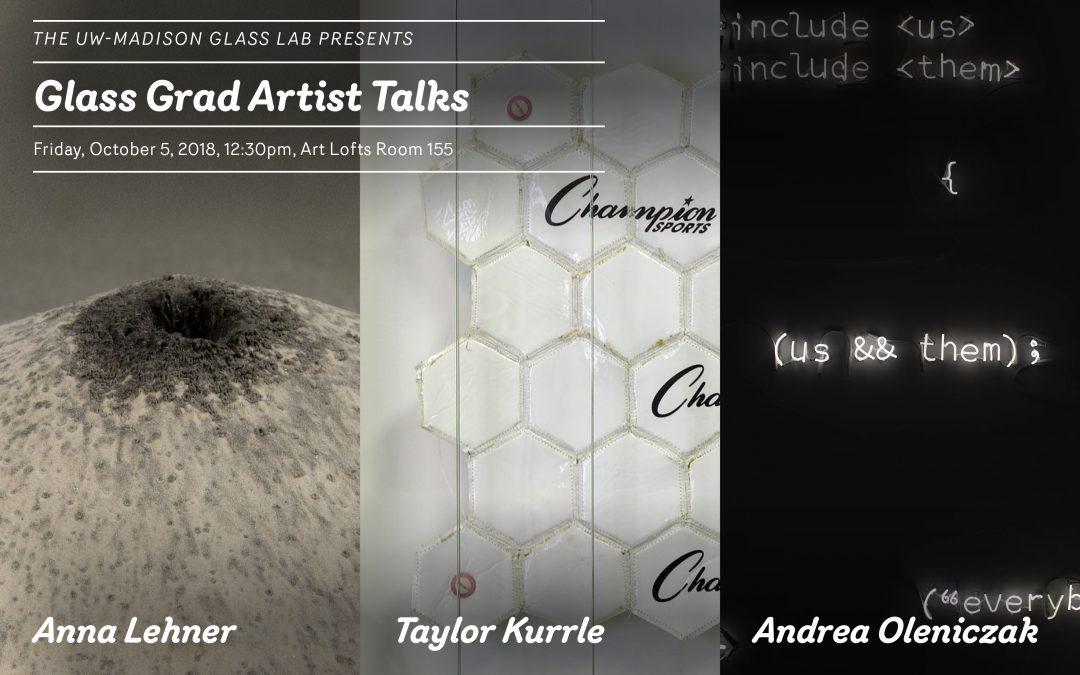 Glass Grad Artist Talks