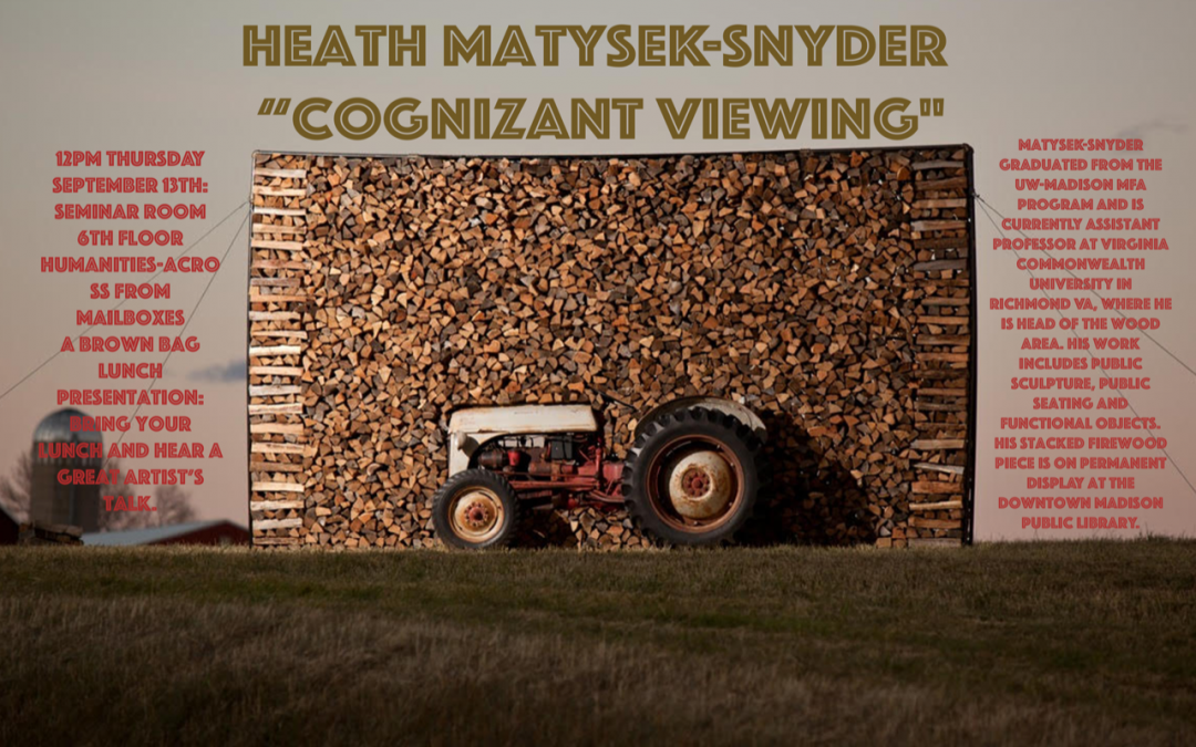 Cognizant Viewing by Heath Matysek-Snyder