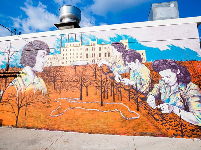 Creating Mural Alley by Catherine Capellaro